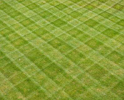 Alternating directions while mowing