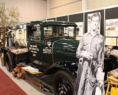 The TCI EXPO 2013 museum featured equipment, tools, climbing gears, photos and more from previous years to highlight milestones within the history of the tree care industry. Davey's restored 1931 Ford Model AA spray rig (pictured) features a John Beam pump that still functions. Photo: Kathleen Costello