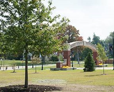 An 8-inch caliper pin oak tree represents the partnership between Kent State University and the City of Kent, Ohio.