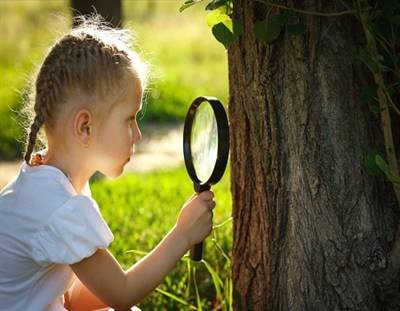 Spring Ahead (magnifying glass)