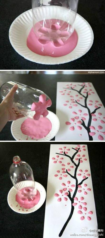 Quot Ring In Spring Quot Tree Craft Idea No 1 Cherry Blossom