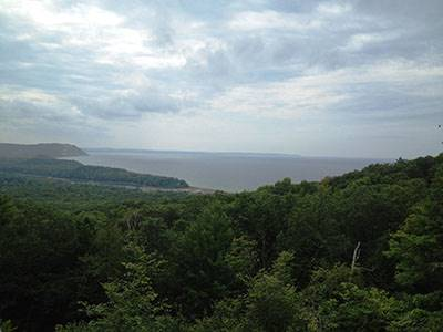 Sleeping Bear Dunes National Lakeshore view