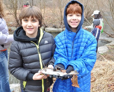 The benefits of a stream restoration in Reston, Virginia, expanded to young members of the community when a fishing derby event became an annual event four years ago.